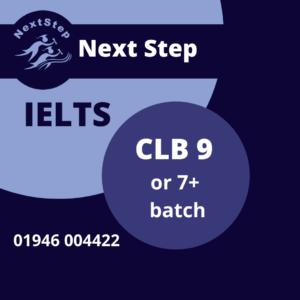 IELTS CLB 9, 7 +